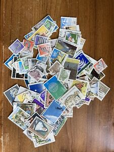 100+ IRELAND IRISH EIRE USED POSTAGE STAMPS ALL DIFFERENT