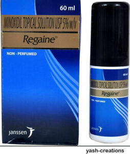 2 Pack- Regaine Topical Solution USP 5% Hair Regrowth & Promoter For Men