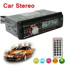 Car Stereo Audio In-Dash Head Unit Radio SD FM USB MP3 Player AUX Non CD Reader