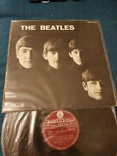 ROCK BEAT THE BEATLES STORY 1963 RED LABEL BIEM PARLOPHON PMCQ 31502 PLEASE ME