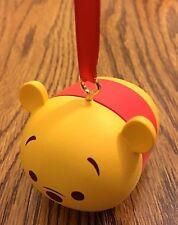 """Disney Winnie the Pooh """" Pooh """"  TSUM TSUM Vinyl Christmas Ornament NEW"""