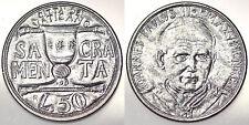 50 LIRE 1993 ANNO XV GIOVANNI PAOLO II CITTA' DEL VATICANO VATICAN Fdc Unc#3264A