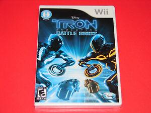 Nintendo Wii Disney Game Tron Evolution Battle Grids   ***NEW***   Free Shipping