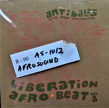 AFRO-BEAT CD: ANTIBALAS LIBERATION VOL 1 on AFROSOUND original (2000)