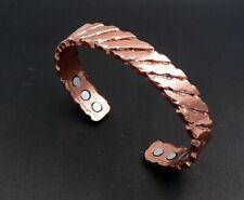 Bracelet magnétique en cuivre avec aimants Anti-Douleurs, Rhumatisme Arthrose