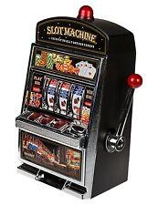 XL SLOTMACHINE Geld-Spielautomat Einarmiger Bandit Spardose Glücks-Sparschwein