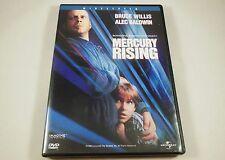 Mercury Rising Dvd Bruce Willis, Alec Baldwin, Chi McBride, Kim Dickens