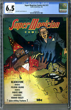Rare Super Magician Vol 2, #11 (1944, Street Smith)  CGC 6.5! Only 9 in Census!!