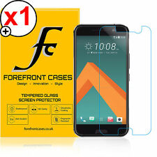 Forefront Cases® HD Tempered Glass Screen Protector Shield for HTC One M10