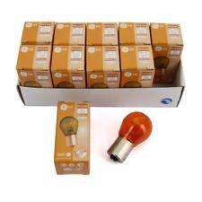 10x Kugellampe Stecksockel GELB PY21W LONGLIFE 12V 21W BAU15s