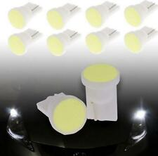 10 X Car Super Bright White 1 LED COB SMD T10 W5W Wedge Side Light Bulb Lamp 12V