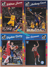 2016-17 DONRUSS COMPLETE 200 BASE CARD SET: LeBRON/CURRY + BEN SIMMONS ROOKIE RC