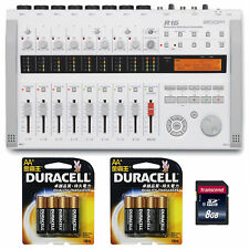 Zoom R16 Multitrack SD Recorder Controller Interface w/AA Batteries &8GB SD Card