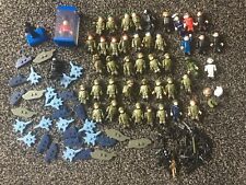 Large Job Lot X 46+ Army & Military Men Fit Lego with Weapons Used