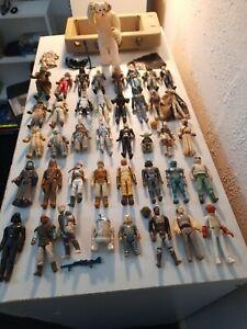 Vintage Star Wars Job Lot 40 Figures +Wampa +Accessories 1977/1984 100% Original