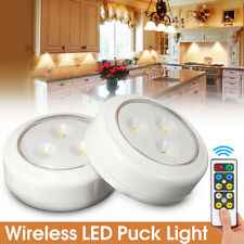2pcs Wireless Control LED Ceiling Down Light Panel Wall Kitchen  Room Lamp
