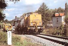 AK, Dohna, Diesellok 298 047 vor Zug 59299 in Dohna am 4.10.1999