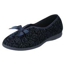 Pantofole da donna blu sintetico dalla Cina