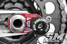 Registri tendicatena HONDA CRF-CR 125 250 450 supermotard + tampone supermoto
