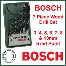 Bosch 7 Piece X-Line Brad Point Wood Drill Bit Set Metric