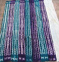 Vintage Dogon,Mali Lavender (Indigo?) Dyed Fabric/Hand Woven Cotton Strips/42x58