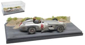 SC12 Mercedes W196 #8 Winner Dutch GP 1954 - Juan Manual Fangio 1/43 Scale