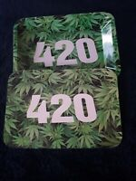 """Metal Rolling Tray with Magnetic Lid &  (5"""" x 7"""")"""