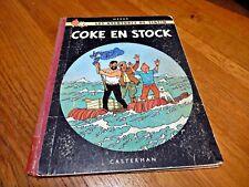 Tintin  Coke en Stock EO  Fr 1958 B24 DR Danel 1843