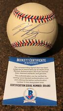 MIKE PIAZZA Signed Autograph 1996 All Star Baseball Los Angeles Dodgers Mets BAS
