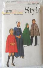 VINTAGE 1970S STYLE SEWING PATTERN 4879 GIRLS CAPE 2 LENGTHS 10 YRS 73 CM CHEST