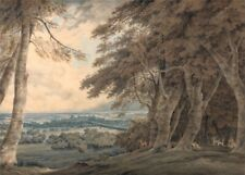 Windsor, 1798, J.M.W. TURNER, Romanticism Art Poster
