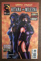 Mortal Kombat Kitana & Mileena #1 1995 First Printing Original Malibu Comic Book
