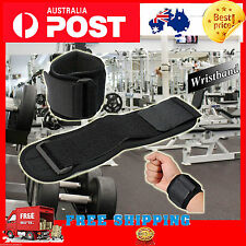 Sports Wristband Protector Wrist Brace Wrap Support Gym Tennis Adjustable Strap