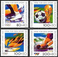 BRD (BR.Deutschland) 1717-1720 (kompl.Ausgabe) postfrisch 1994 Sporthilfe