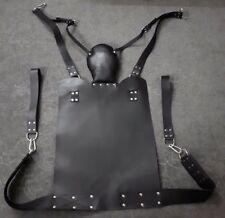 Genuine Heavy Duty Leather Adult Love Swing / Sling Play Room Fun Gay Straight