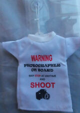 Car hanging t-shirt for photographers gift for mothers / fathers day birthdays