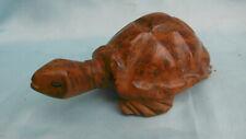 Schnitzerei Schildkröte aus Holz