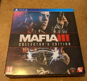 Mafia 3 Collector's Edition [Sony PlayStation 4] Complete