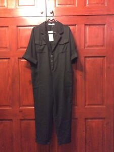 BNWT Black Jumpsuit Size L