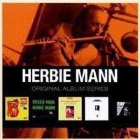 MANN,HERBIE - ORIGINAL ALBUM SERIES 5 CD (BOX SET ) NEW