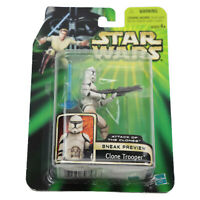 Star Wars Attack of the Clones Sneak Preview Clone Trooper Action Figure