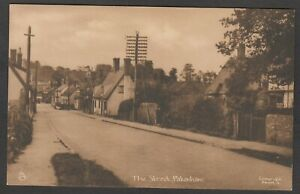 Postcard Pakenham nr Bury St Edmunds Suffolk early view of The Street by Tuck #4