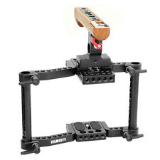 Filmcity DSLR/DSLM Camera Cage (Small) for Sony A7/A7II Canon 550D 600D 700D