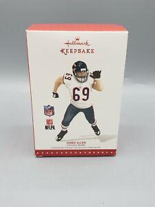 Hallmark Keepsake 2015 Ornament Chicago Bears Jared Allen #69