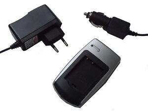 CHARGEUR de batterie pour PANASONIC Lumix DMC-G1 DMCG1