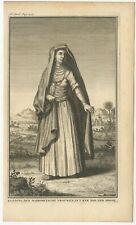 Kleding der Mahometsche Vrouwen (..) - Tirion (1731)