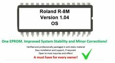 Roland r-8m - versión 1.04 del firmware Upgrade EPROM update for r8m drummachine