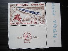Frankreich MiNr. 1480 ZF mit Zierfeld postfrisch**   (M 787)
