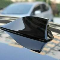 Universal Auto Car Shark Fin Roof Antenna Radio FM/AM Decorate Aerial Black