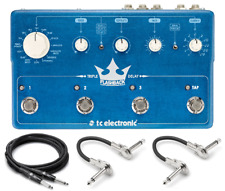 New TC Electronics Flashback Triple Delay Guitar Effects Pedal w/ Hosa Cables